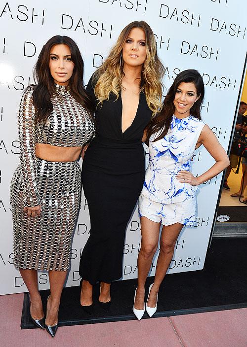 Kim Kardashian, Kloe Kardashian, Kourtney Kardashian, Míralos