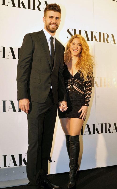 Gerard Piqué, Shakira, Míralos