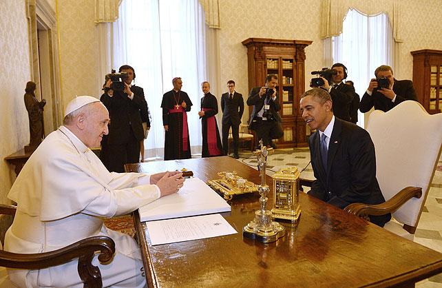 Papa Francisco, Barack Obama