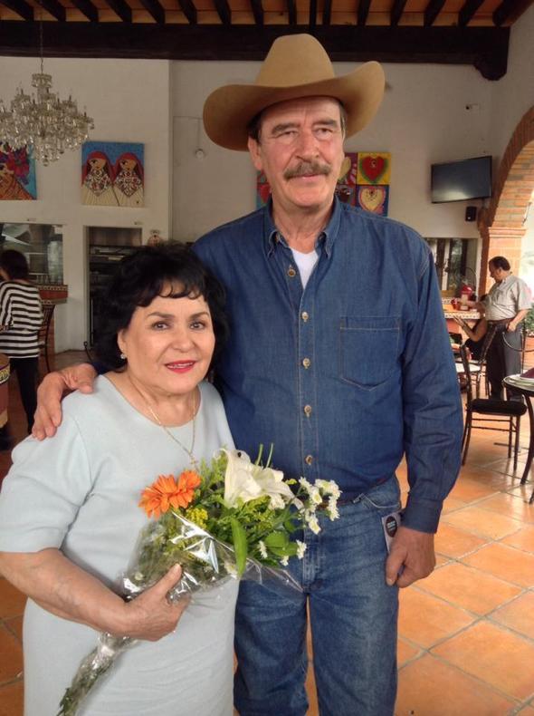 Carmen Salinas, Vicente Fox, Míralos