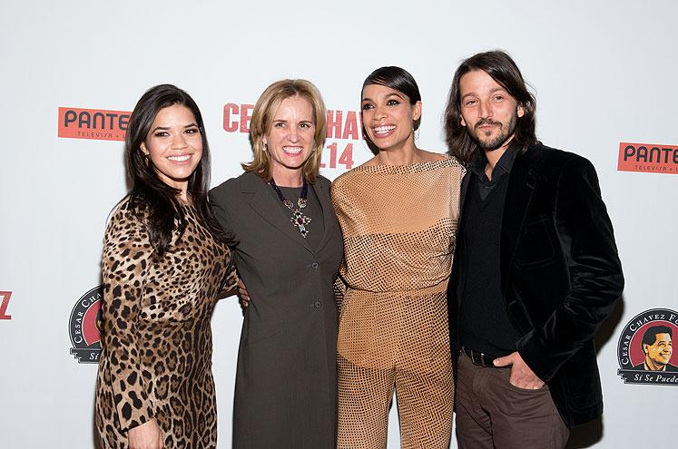 Diego Luna, América Ferrera, Rosario Dawson, Kerry Kennedy