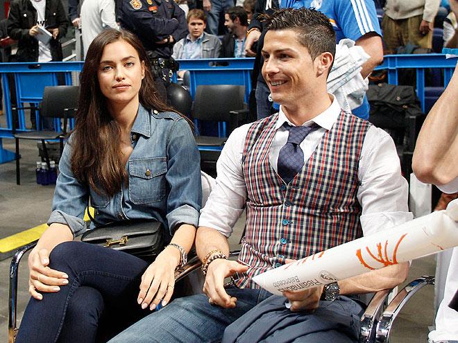 Cristiano Ronaldo, Irina Shayk, Míralos