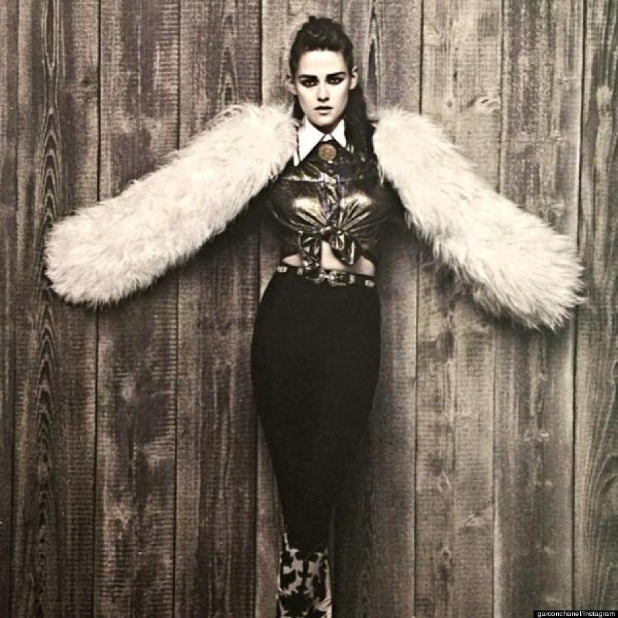 Kristen Stewart, en la campaña de pre-otoño 2014 de Chanel