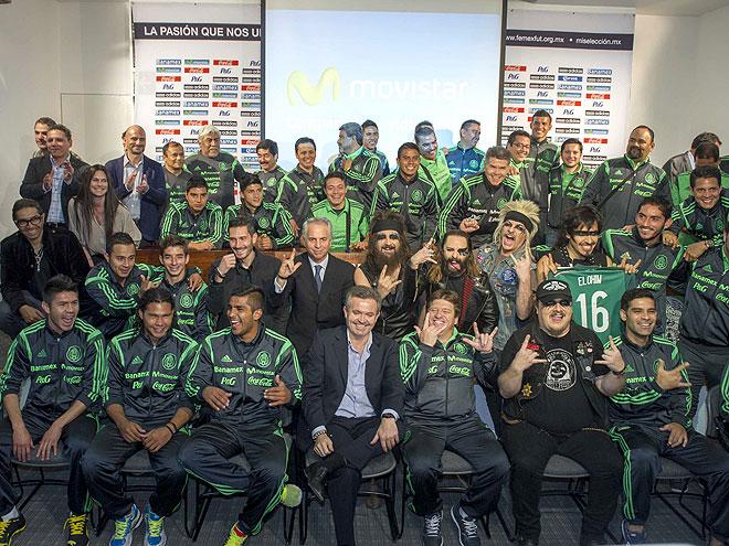 Moderatto, Selección Nacional de Fútbol de México