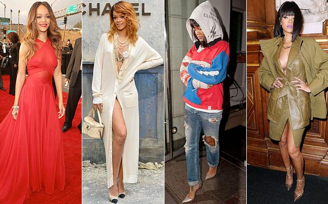 Rihanna, nombrada Ícono de Moda, for article