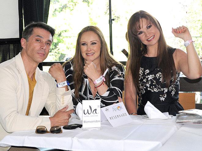 Sergio Mayer, Marisol Santacruz , Ana Patricia Rojo, Míralos