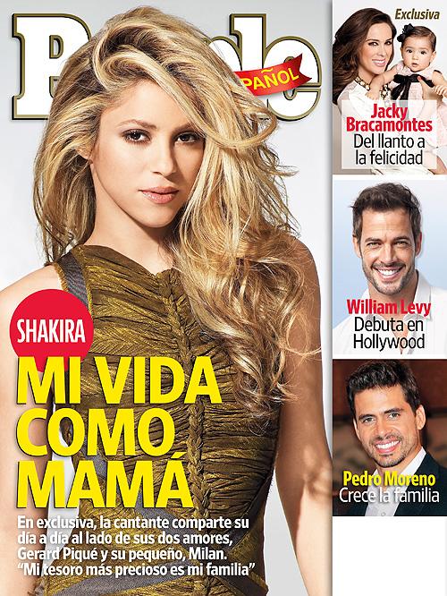 Shakira, portada, abril, 2014