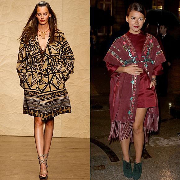 En pasarela tendencias para la primavera 2014, Miroslava Duma