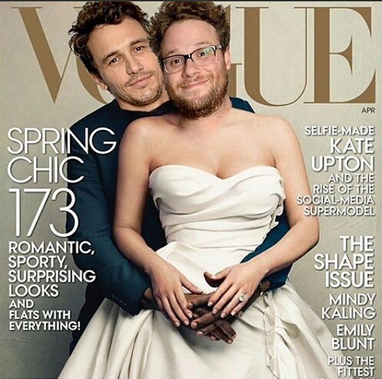 VOGUE JAMES FRANCO