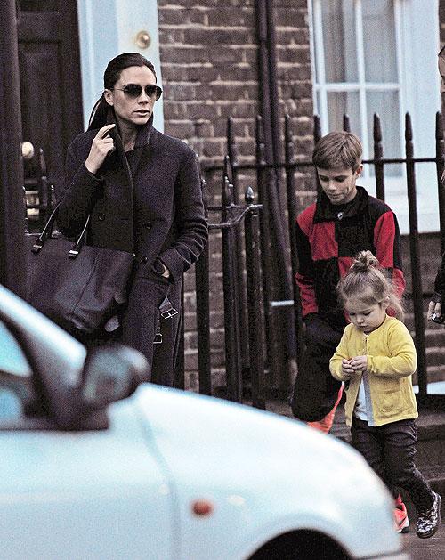 Victoria Beckham, Harper, Romeo, Míralos