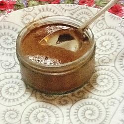 Mousse de chocolate con ron