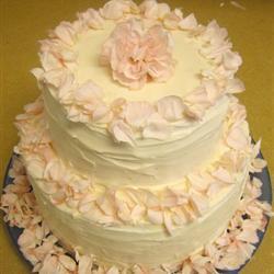 Betún para pasteles de bodas