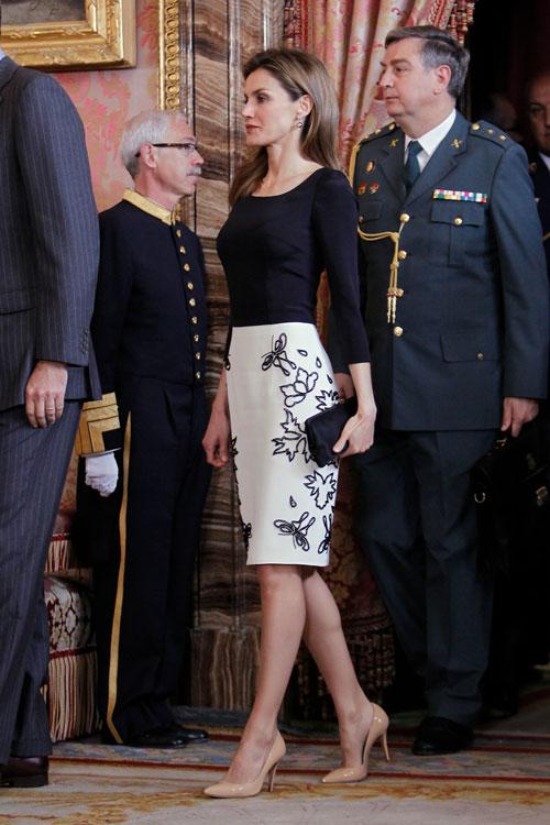 Letizia Ortiz, El look del día