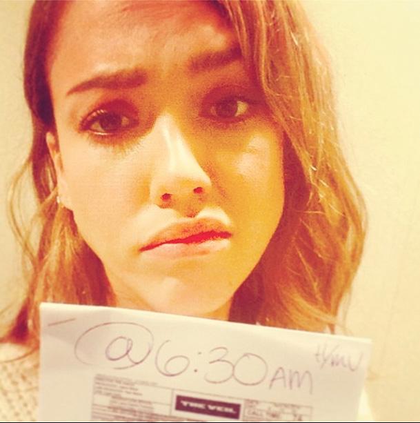Jessica Alba, redes sociales