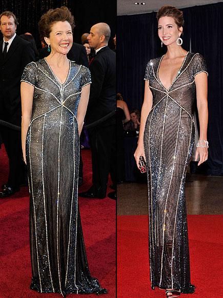 Annette Bening, Ivanka Trump, Dos mujeres
