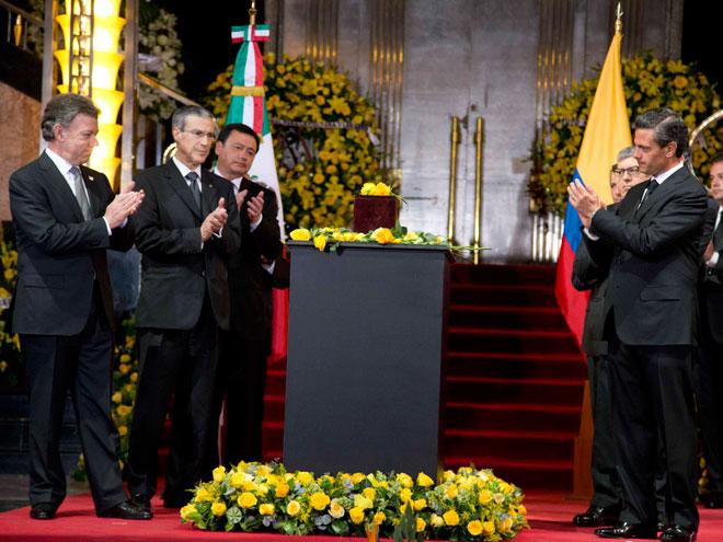 Juan Manuel Santos, Enrique Peña Nieto