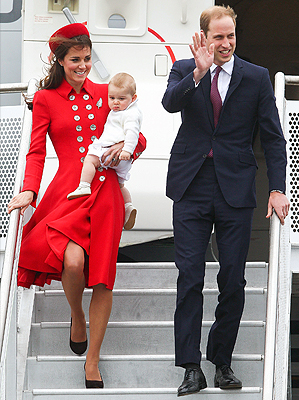 WILL, KATE Y GEORGE