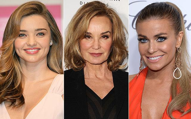 Miranda Kerr, Jessica Lange, Carmen Electra, Cumpleaños Famosos