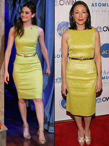 Emmy Rossum, Ann Curry, Dos mujeres