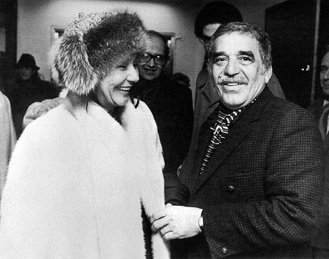 Gabriel García Márquez, Mercedes Barcha