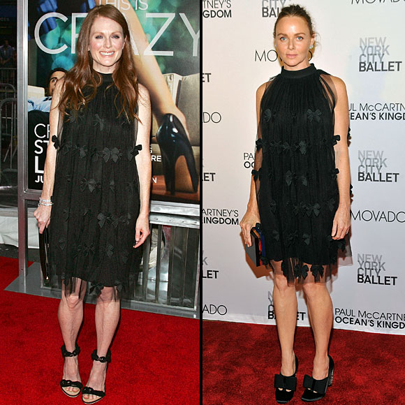 JULIANNE Moore, STELLA McCartney