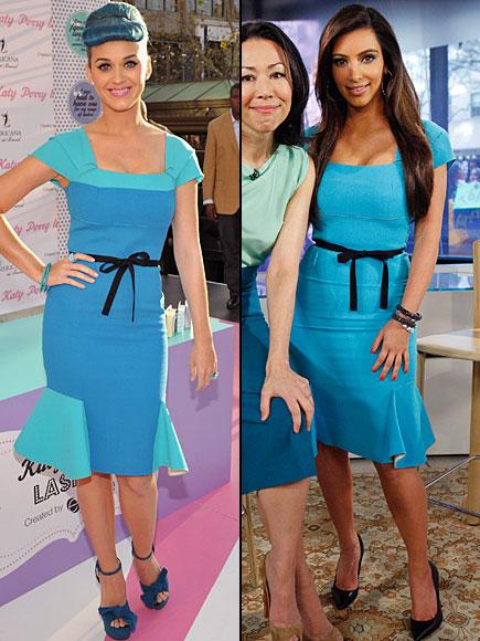 KATY Perry, KIM Kardashian, Dos mujeres