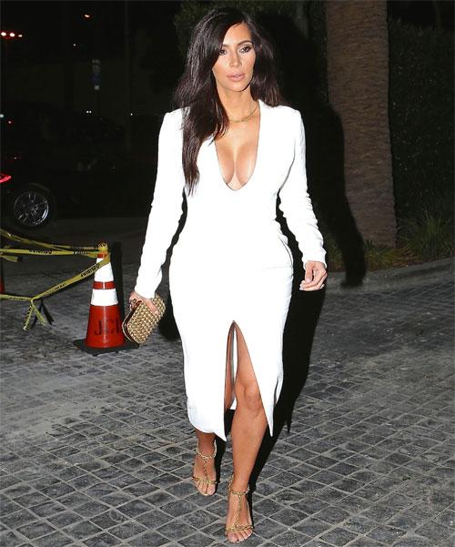Kim Kardashian, El look del día