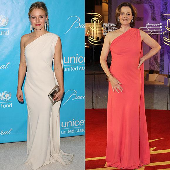 Kristen Bell, Sigourney Weaver, Dos mujeres