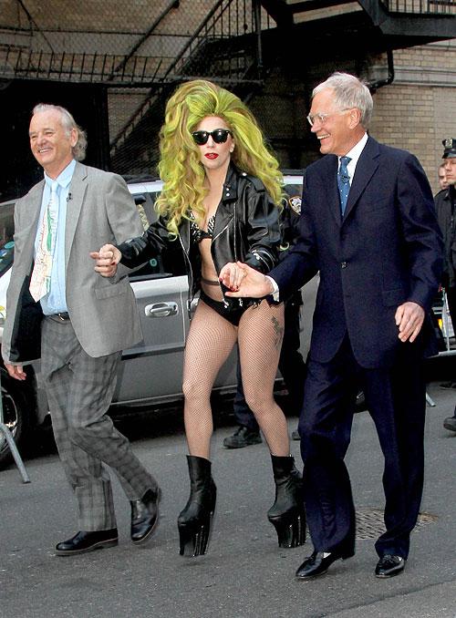 David Letterman, Lady Gaga, Bill Murray, Míralos