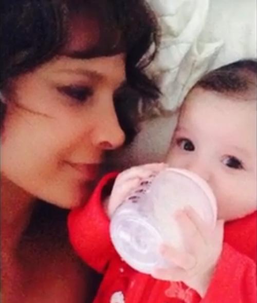 Lorena Rojas, hija, Luciana
