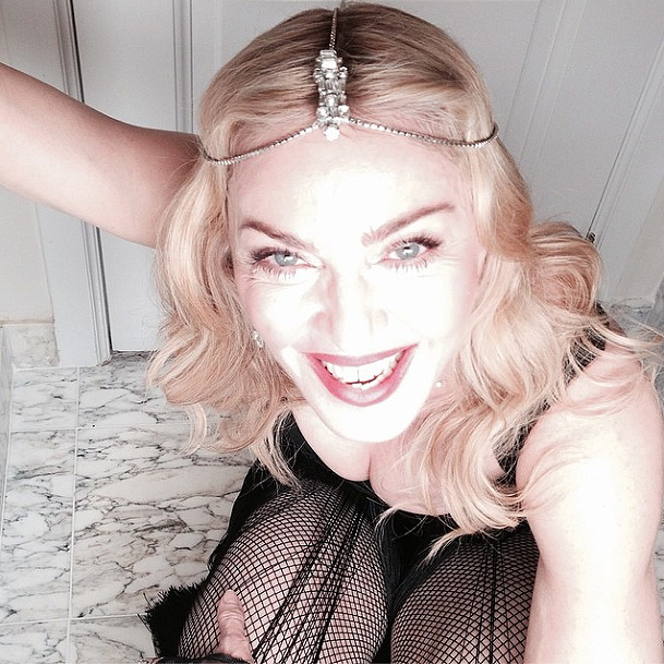 Madonna, sin filtro