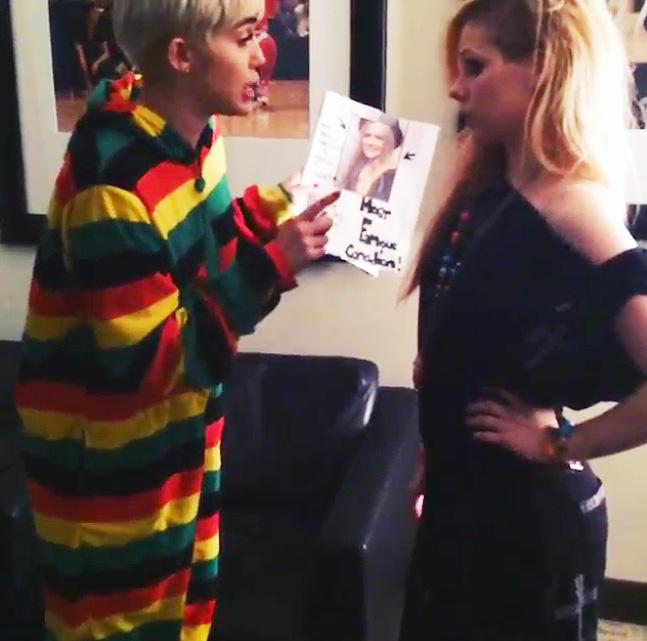 Miley Cyrus, Avril Lavigne