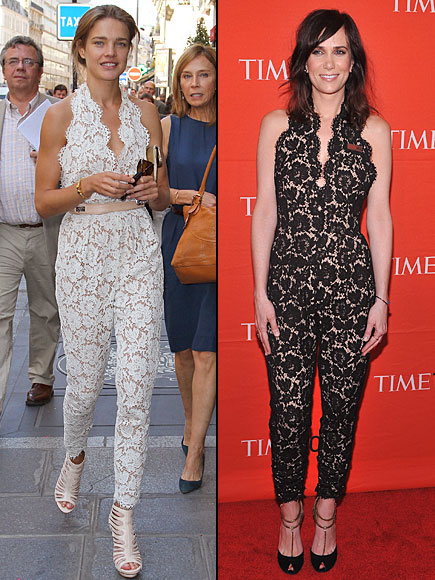 Kristen Wiig, Natalia Vodianova, Dos mujeres