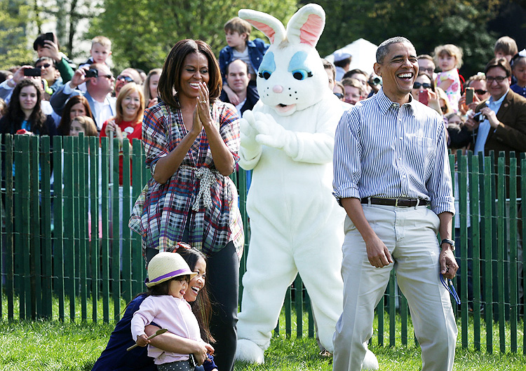 Barack Obama, Michelle Obama, Miralos
