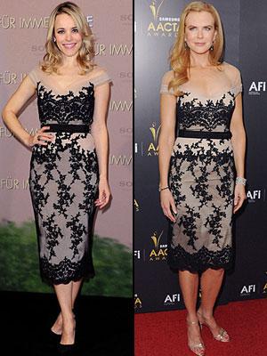Rachel McAdams, Nicole Kidman, Dos mujeres