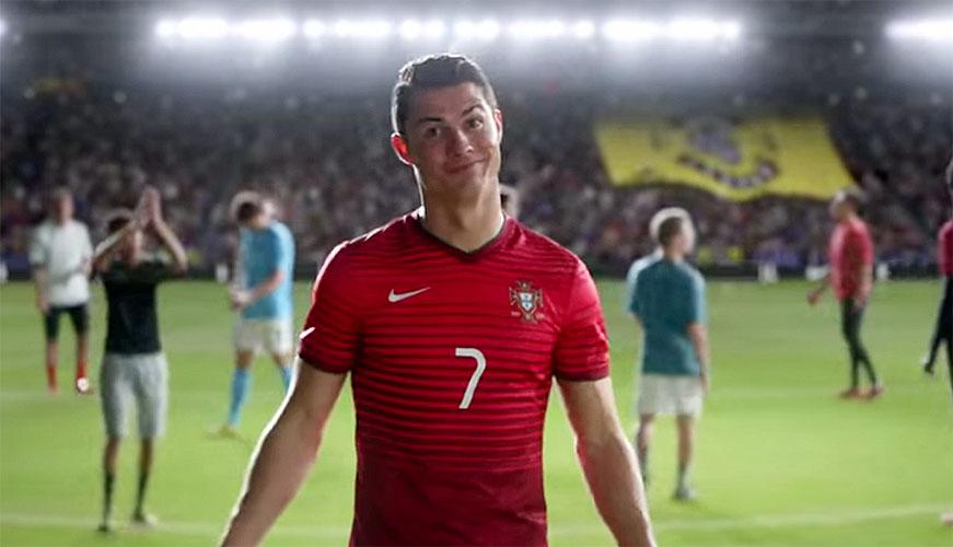 Cristiano Ronaldo, publicidad Nike