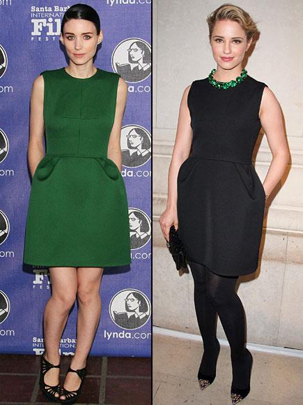 Dianna Agron, Rooney Mara, Dos mujeres