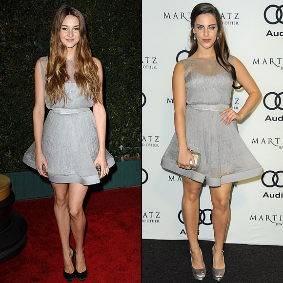 Shailene Woodely, Jessica Lowndes, Dos mujeres