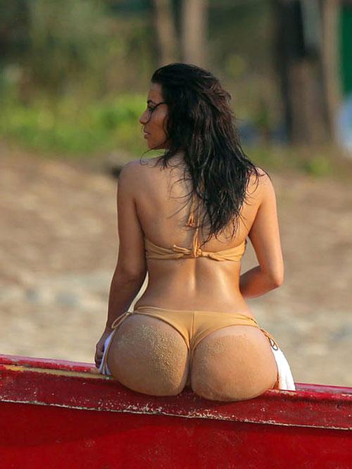 Kim Kardashian, sexy en Tailandia
