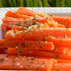 Zanahorias parmesanas