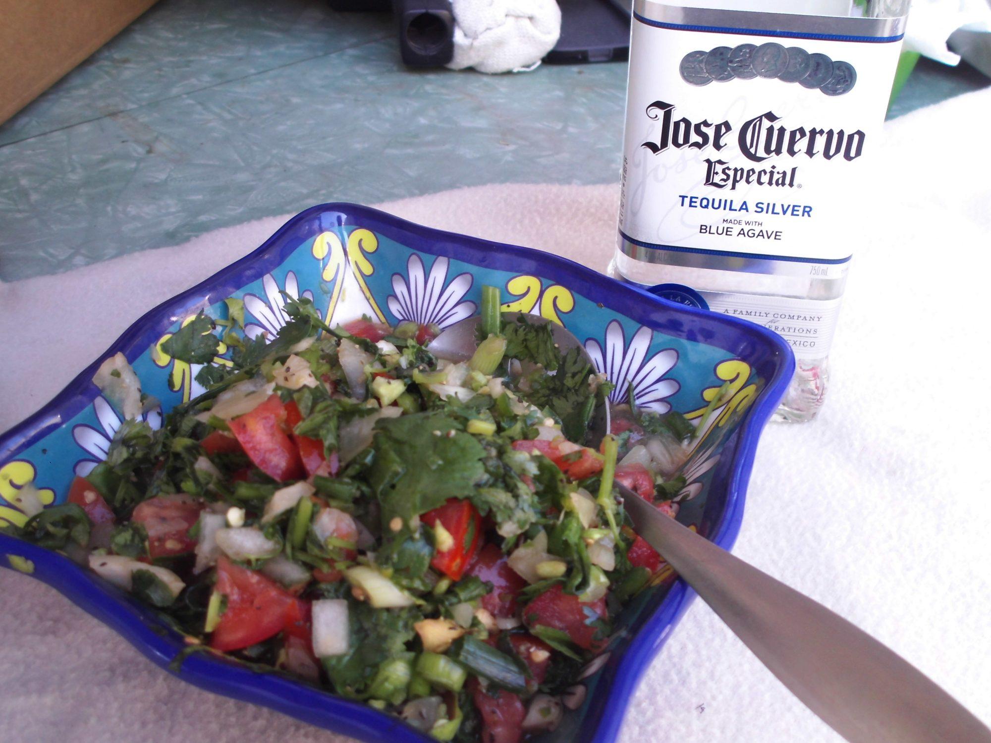 Salsa mexicana borracha