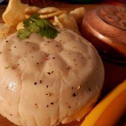 Mousse de camarón con chipotle