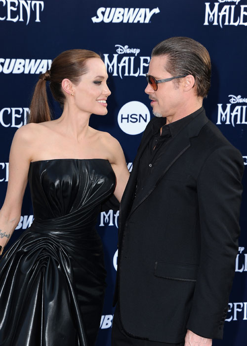 Angelina Jolie, Brad Pitt, Míralos