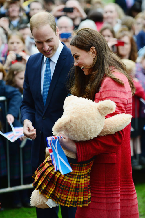 Kate Middleton, William, Míralos