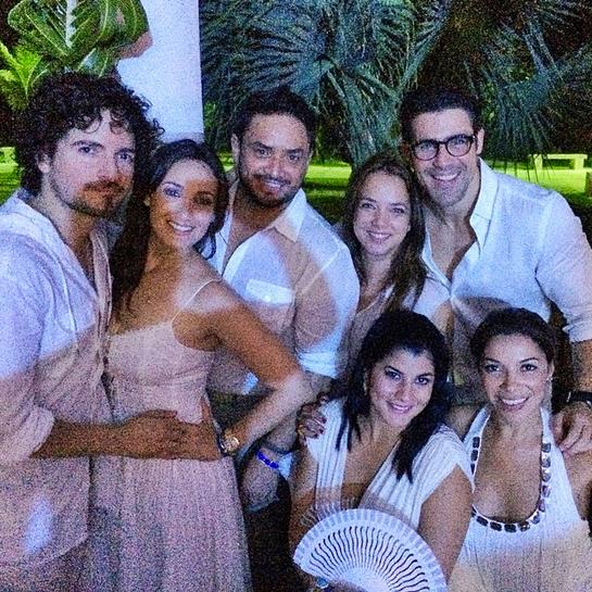 Compromiso de Adamari López y Toni Costa, José Guillermo Cortínez, Manny Manuel, Tommy Torres, Karla Monroig, Paula Arcila
