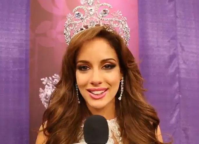 Aleyda Ortiz, Nuestra belleza latina