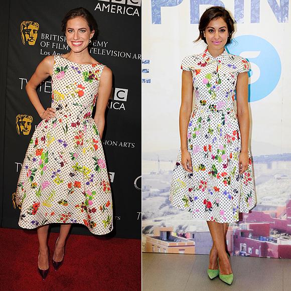 Dos mujeres un vestido, Allison Williams, Hiba Abouk