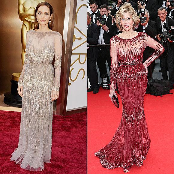 Angelina Jolie, Jane Fonda, Dos mujeres