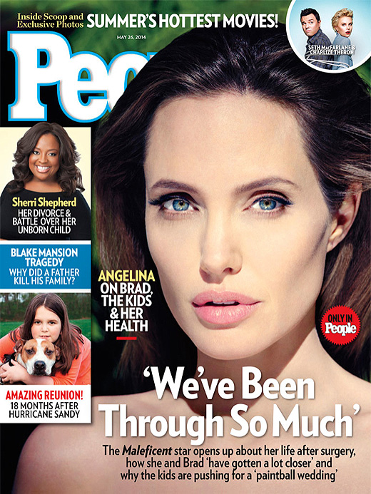 Angelina Jolie, portada, People, mayo, 2014