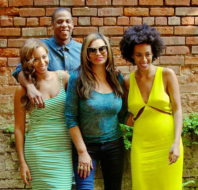 Beyoncé, Jay Z, Solange, Tina Knowles